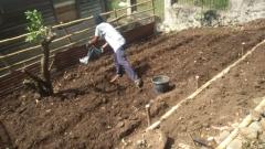 Preparing The Area