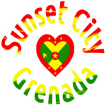 Sunset City Grenada West Indies