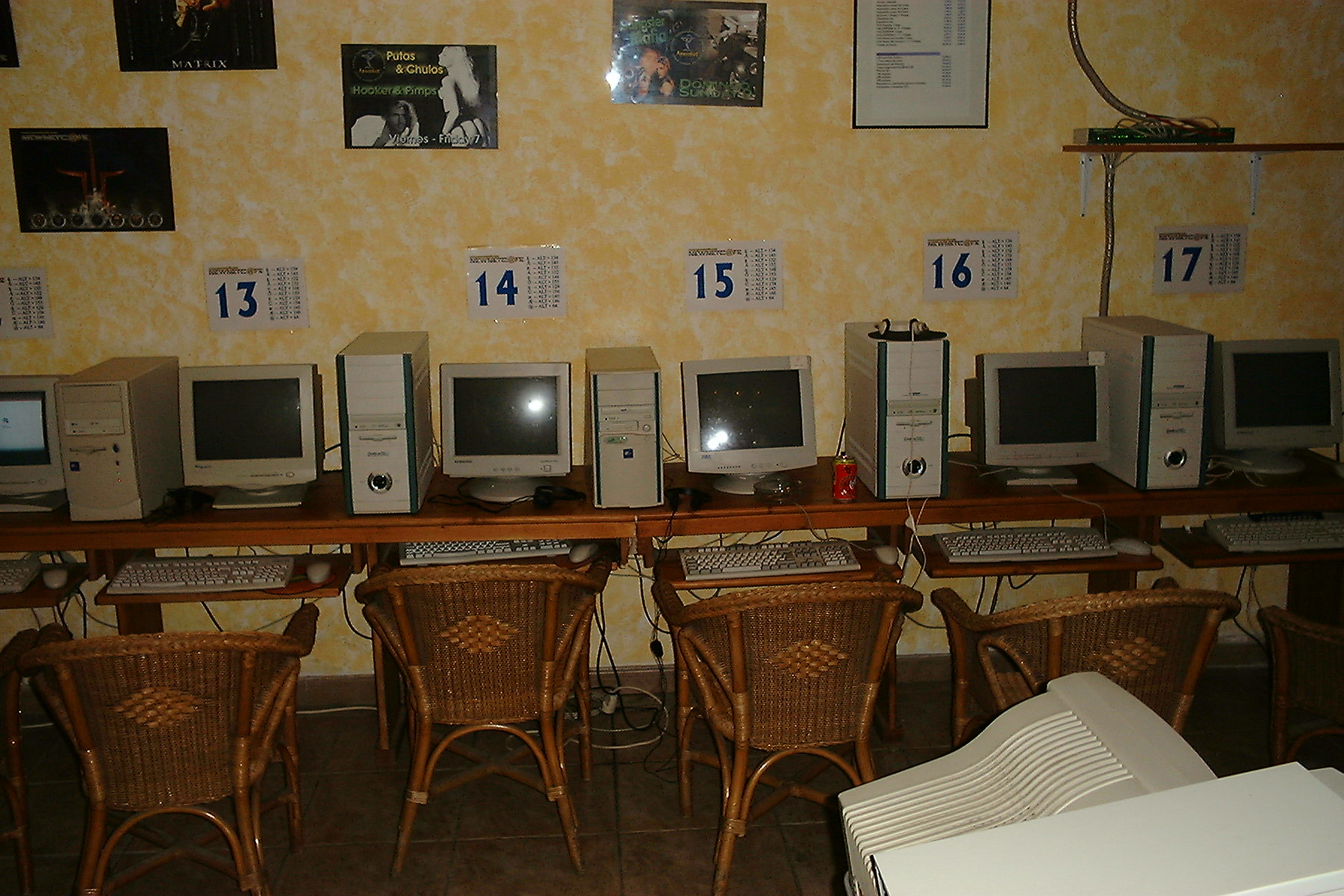 Internet Cafe - Image taken from Open Photo